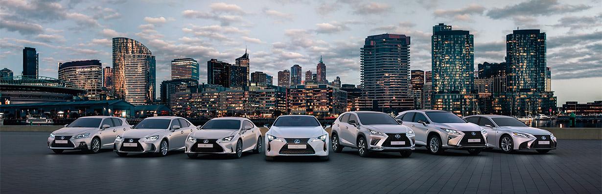 Gama Lexus 2018