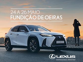 Lexus na Fundição de Oeiras