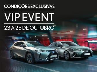 Lexus Vip Event de 23 a 25 de Outubro